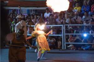 Canboulay: The history of Trinidad's carnival comes alive in an explosion of colour and revelry