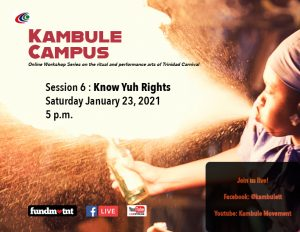 Kambule campus: Know Yuh Rights